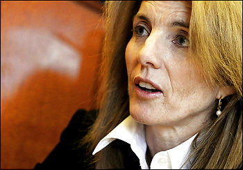 Al Kamen writes:  Caroline Kennedy could run the Peace Corps