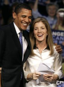 Caroline Kennedy is beginning to exhibit her own Kennedyesque sense of ambition