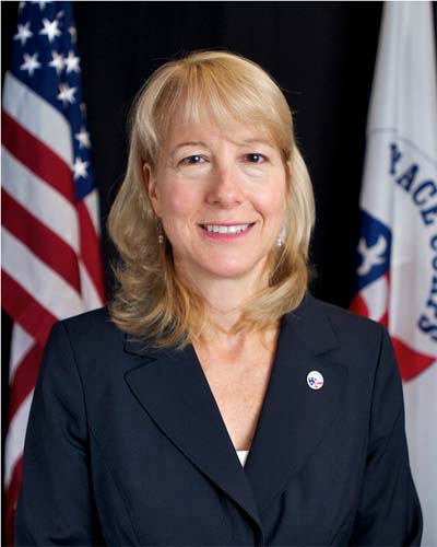Peace Corps Deputy Director Carrie Hessler-Radelet spoke about her experiences in Samoa with her husband