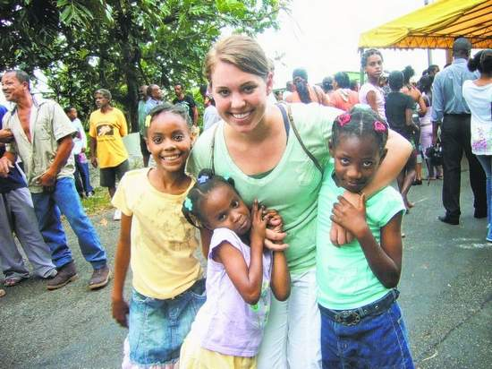 Julie Cieszkowski finds true calling in Peace Corps Dominica