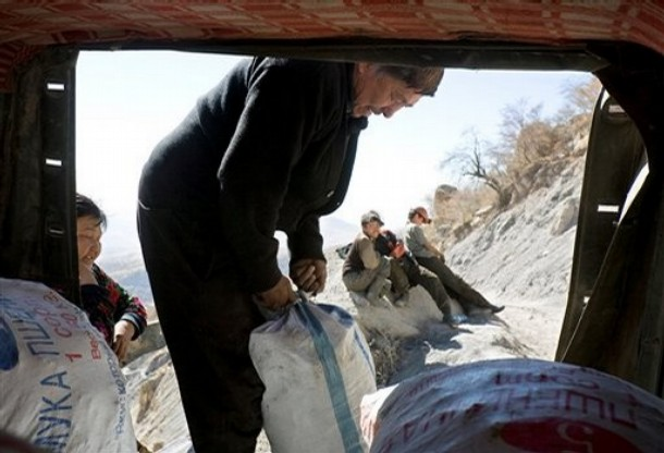 William Yeatman writes: My ex-wife and I buy ten thousand pounds of coal every fall for the Kyrgyz family with whom we lived while we served in the Peace Corps