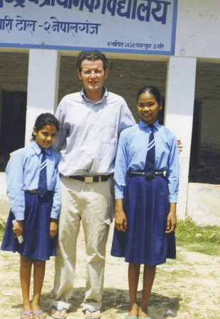 RPCV Colin Stimmler was an English teacher for fourth and fifth graders at a small government school in in Nepalgunj, Nepal