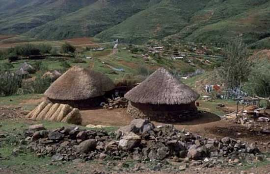 1998: Holly Arrigoni served as a Peace Corps Volunteer in Lesotho in Ha Rantuba beginning in 1998