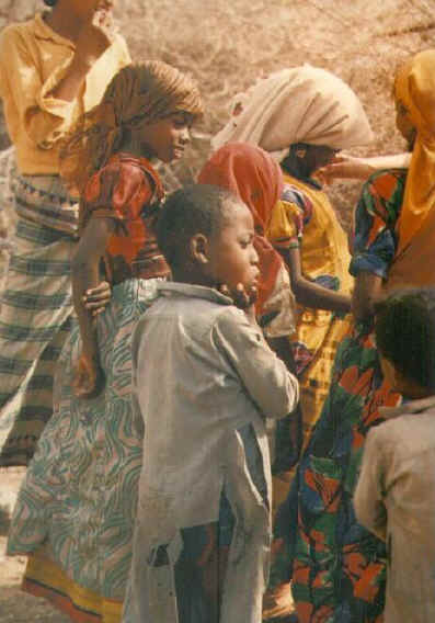 1987: 	Terri (Decker) Kung served as a Peace Corps Volunteer in Yemen in Sana'a beginning in 1987