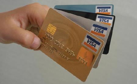 tarjetas de credito con dinero