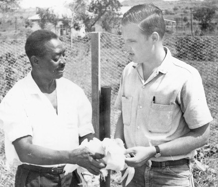 Dave Stenberg was in the Peace Corps in Tanzania, from 1964-66 and helped the people learn a multitude of agricultural practices