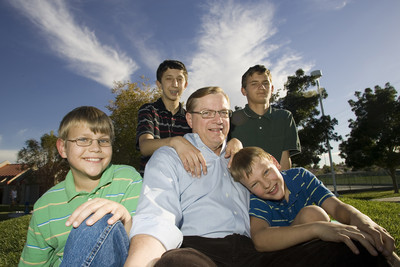 RPCV David Robeck adopted four orphans in Russia and brought them to Las Vegas