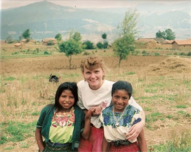Doris Ditchfield volunteered for the Peace Corps in 1991 in Guatemala