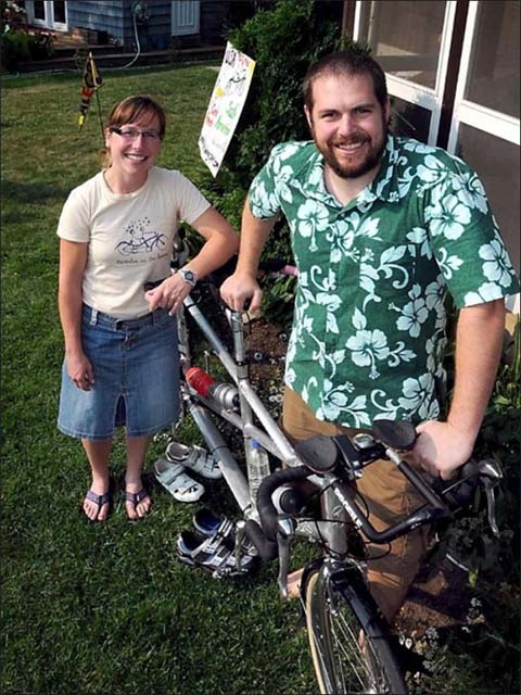 Vanuatu RPCVs Eric and Christie Nelson will ride bicycles roughly 15,000 miles - through the U.S., Mexico, Central America and on down to Tierra del Fuego, the southern-most tip of South America
