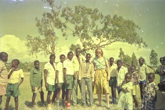 1983: Evelyn Cox served as a Peace Corps Volunteer in Kenya in Kendu Bay, Nyongoma beginning in 1983
