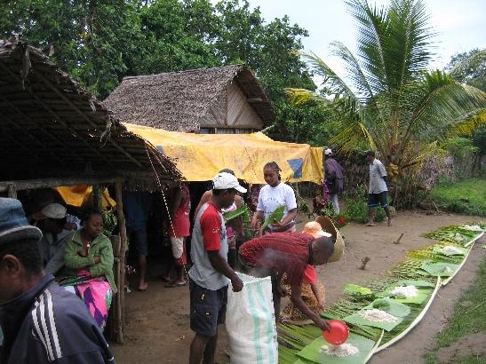 Peace Corps Volunteer Malagasy Musings writes: Famadihana Ceremony