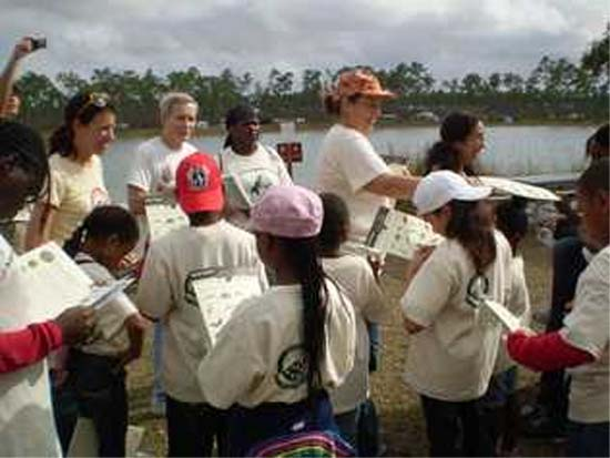Returned Peace Corps volunteers of South Florida sponsored an Everglades experience for needy youngsters