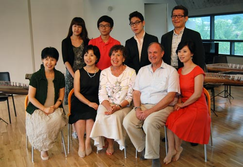 Frank Axel, CEO of a chemical company in New York, and 25 other former Peace Corps members attended the concert during a week-long return trip to Korea at the invitation of the Korean government