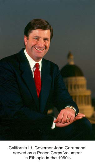 Lt. Governor John Garamendi is first to jump into California governor's race