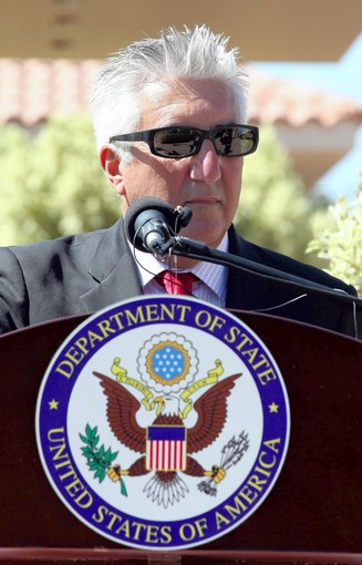 Afghanistan RPCV Gene Cretz, now US Ambassador to Libya, voices hope that moderate elements will prevail as authorities seek to craft the nation's first representative government