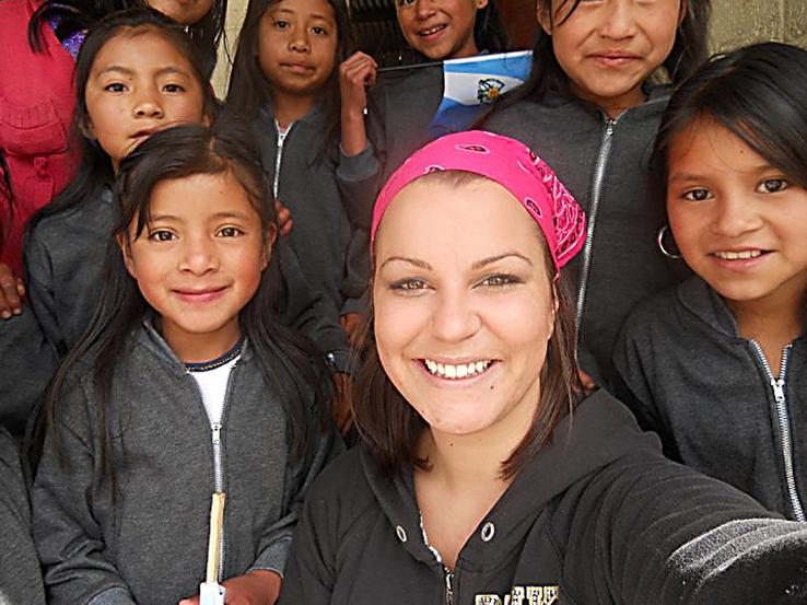 Peace Corps volunteer Grace Williams combats poor conditions in Guatemala