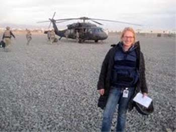 Mali RPCV Heidi Vogt is an Afghanistan correspondent with the Associated Press