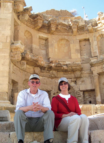 Dan and Marlene Hovland have recently returned home after spending 14 months in Jordan with the Peace Corps