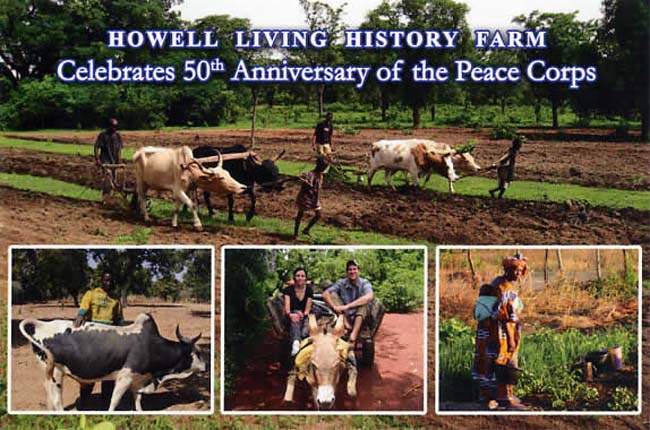 Exhibit at Howell Living History Farm celebrates 50th anniversary of Peace Corps