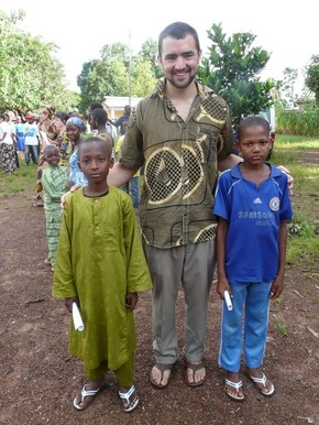 Hunter Dreidame serves as Peace Corps Volunteer in Guinea