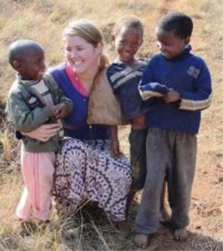 Peace Corps volunteer Jaclyn Schaap spent 2 years with a polygamous family in Swaziland
