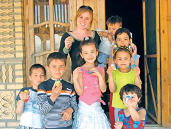 During her two years in Turkmenistan working for the Peace Corps, Jeanne Walsh learned that the children listened to her lessons about nutrition, sanitation and exercises the best