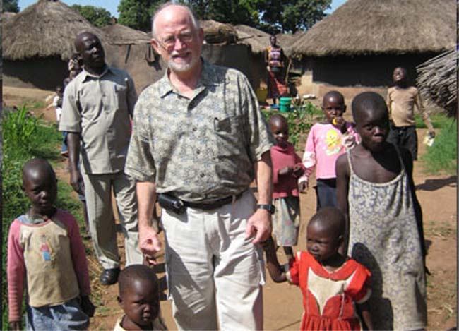 India RPCV and Uganda Country Director J. Larry Brown, a veteran of the Peace Corps between 1966-2009, is in Washington, D.C. to meet with Peace Corps officials and members of Congress to discuss reforms