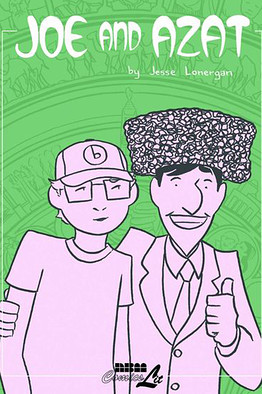 "Jesse Lonergan's time teaching English in Turkmenistan became the graphic novel ""Joe and Azat,"" a fictional tale based on Lonergan's year and a half assignment from September 2005 to February 2007"