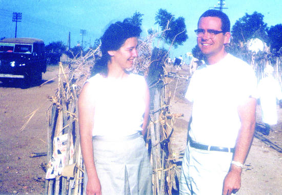 John and Peggy Davis of Worthington joined the Peace Corps in 1962 and were assigned to Gondar, Ethiopia