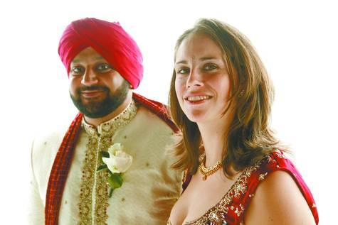 Philippines RPCV Katherine Maria Driscoll marries Samarjit Singh Rattan