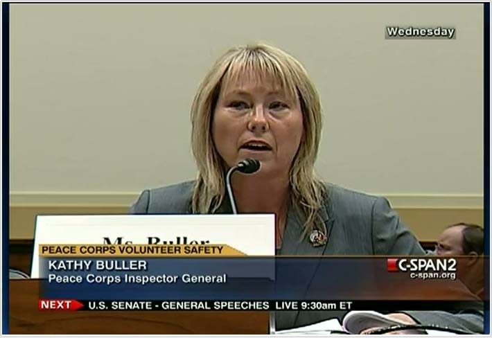 "Testimony of Peace Corps Inspector General Ms. Kathy A. Buller: ""Peace Corps: The Next Fifty Years"""