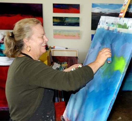Togo RPCV Kathy Karlson loves creating through writing, painting