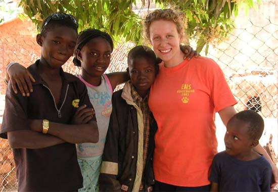 Peace Corps Volunteer Katie Cannon has a quest for water in Mali