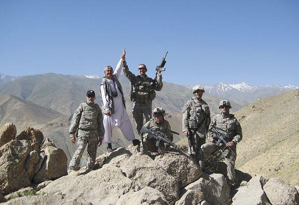 Stationed in the Bagram Air Base in the Parwan province of Afghanistan, Paraguay RPCV Kelan Evans has been working since April 2008 as an agricultural adviser for a provincial reconstruction team through the U.S. Department of Agriculture