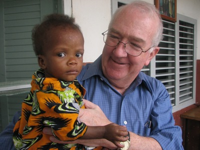 Ghana RPCV Ken Hackett, the President of Catholic Relief Services, recently visited the Missionaries of Charity � the order founded by Mother Teresa � in Cotonou, Benin