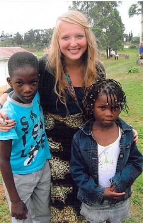 Peace Corps volunteer Lena Jenison marveled over things great and small in a country she was growing to know