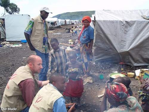 Madagascar RPCV Luke King is head of Mercy Corps in Democratic Republic of Congo