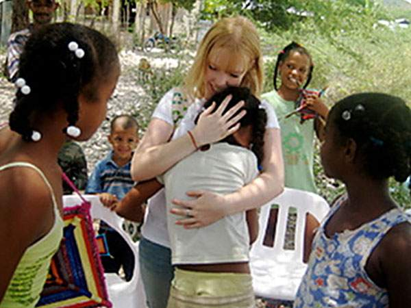 In 1996, Lynee Moquete, a former Peace Corps volunteer, founded Building Homes, Building Hopes, which is a non-profit organization devoted to building homes in developing countries, providing opportunities for individuals to visit these countries and raising global awareness throughout communities