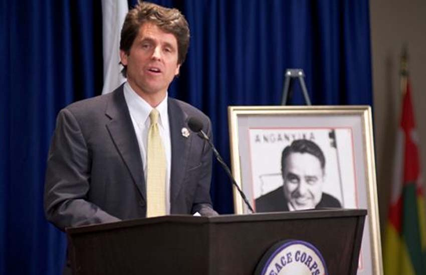 Mark Shriver Speaks Truth to Power at Peace Corps Headquarters