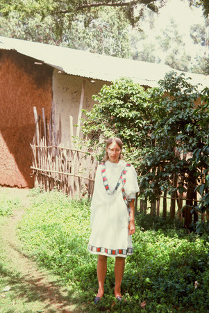 Mary Kirby Rhodes served as a Peace Corps Volunteer in Ethiopia in the 1960s