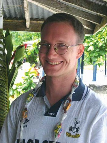 Peace Corps volunteer Matthew Crichton enjoys flavor of life in Western Samoa