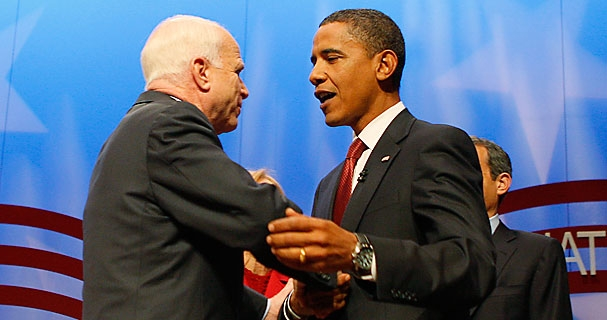 Amy Zulman writes: Improving America's Reputation -- McCain Would Lecture, Obama Would Listen