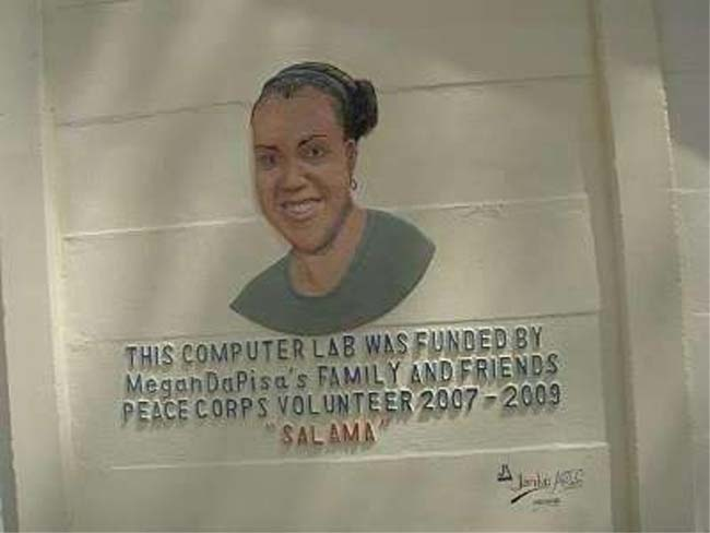 Kenyan village erects monument to Peace Corps Volunteer Megan DaPisa