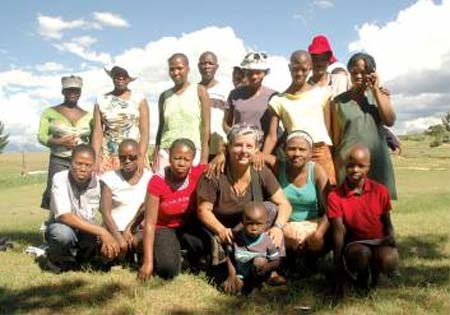 Merrill Nosler recently returned from the county of Lesotho in the Sub Saharan African region as a Peace Corps volunteer