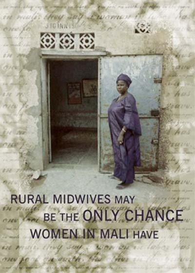 Mali RPCV Craig Tower writes: A Malian proverb says that a woman in labor has one foot on earth, and one foot in the grave