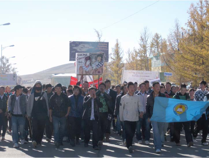 Peace Corps/Mongolia Promotes National Alcohol Awareness Campaign