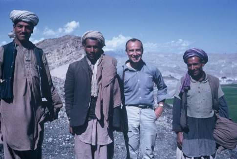 Nicholas Hoesl served as a Peace Corps Volunteer in Afghanistan in 1965