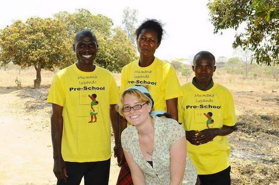 Nicole Barren-Audette is now serving with the Peace Corps in Zambia, accompanied by husband and fellow volunteer Chris Audette