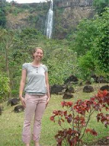 Nicole Sheehan joined the Peace Corps and by August, she was in Uganda, staying with a host family while she trained to be a health volunteer