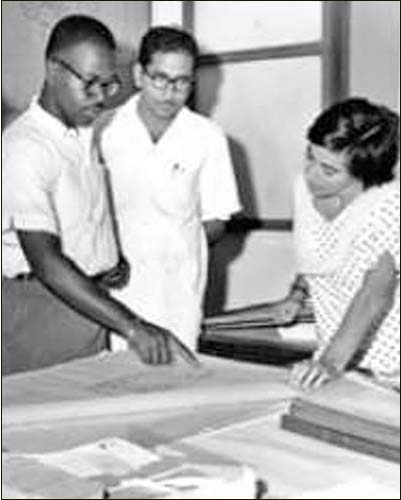 Michelle Obama's uncle, Nomenee Robinson, worked in India in 1961 as a Peace Corps volunteer